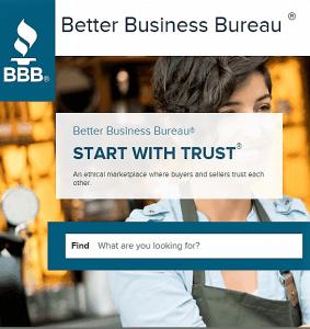 better business bureau complaint or bbb complaint